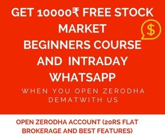 Lesson 17 Intraday Strategy – How to select stocks for intraday using Zerodha real time pi screener