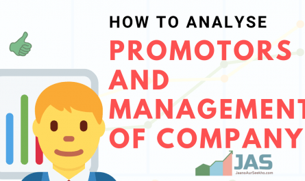 How to analyse promotors of company