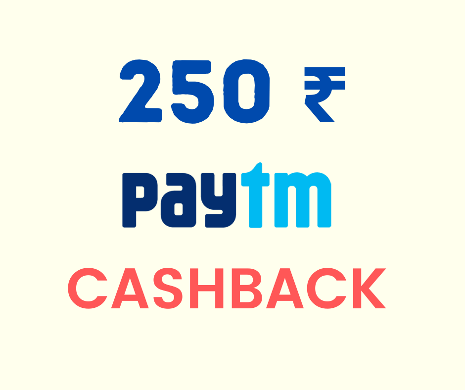 Get 250₹ Paytm Cashback on Opening free UPSTOX demat account