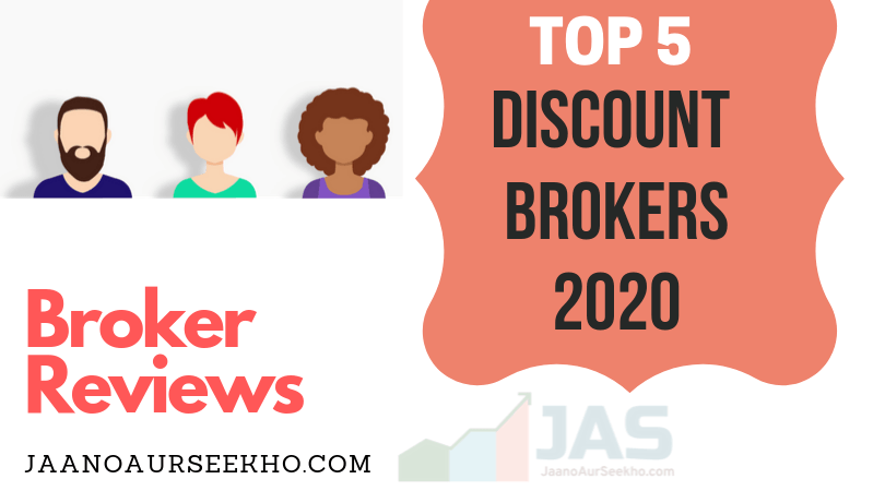 Top 5 discount brokers in India 2020- open demat account  online